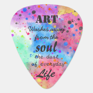 Cool watercolour famous quote pick