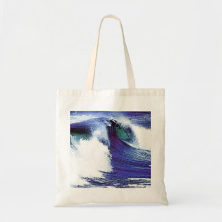 Cool Wave Canvas Bags