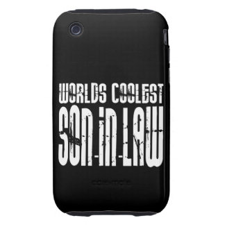 Cool Weddings Birthdays Worlds Coolest Son in Law iPhone 3 Tough Case