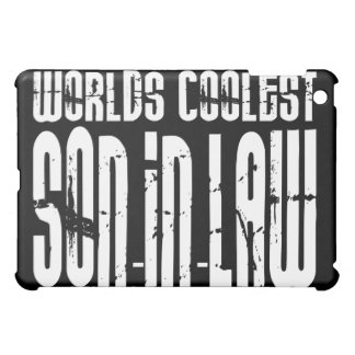 Cool Weddings Birthdays Worlds Coolest Son in Law iPad Mini Cases