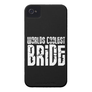 Cool Weddings Bridal Showers Worlds Coolest Bride iPhone 4 Covers