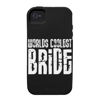 Cool Weddings Bridal Showers Worlds Coolest Bride iPhone 4 Cases