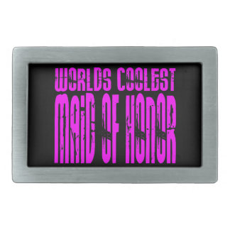 Cool Weddings : Pink Worlds Coolest Maid of Honor Belt Buckles