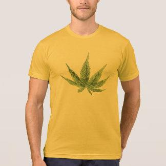 Cool weed design on men t-shirt