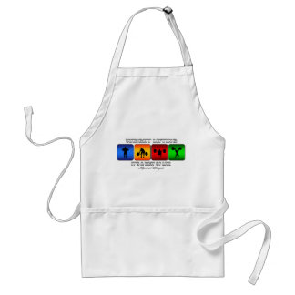 Cool Weight Lifting It Is A Way Of Life Adult Apron