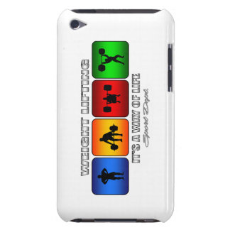 Cool Weight Lifting It Is A Way Of Life iPod Touch Cover