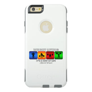 Cool Weight Lifting It Is A Way Of Life OtterBox iPhone 6/6s Plus Case