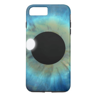 Cool Weird eyePhone Blue Eye Iris Closeup Eyeball iPhone 8 Plus/7 Plus Case