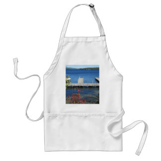 Cool Weirs Beach Dock Adult Apron