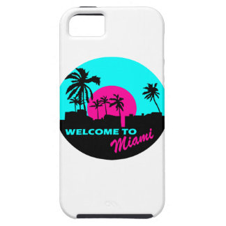 Cool Welcome to Miami design iPhone SE/5/5s Case
