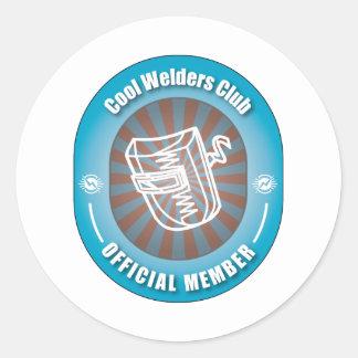 Cool Welders Club Classic Round Sticker