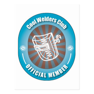 Cool Welders Club Postcard