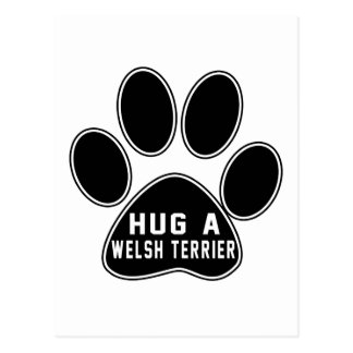 Cool Welsh Terrier Designs Postcards