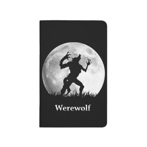 Cool Werewolf at the Full Moon Journal