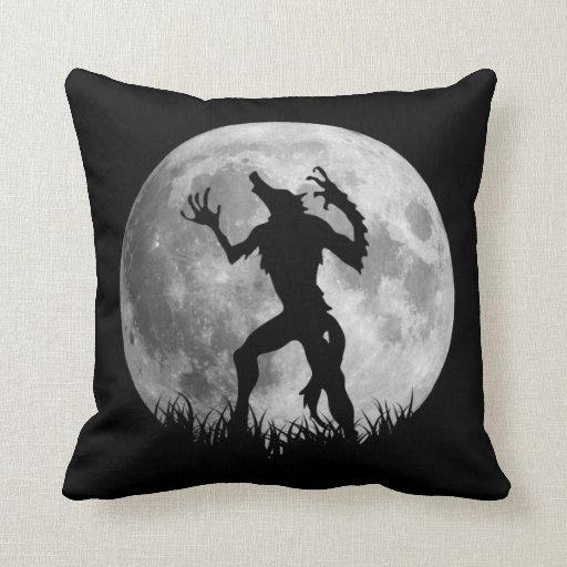 Cool Werewolf Full Moon Transformation Pillows