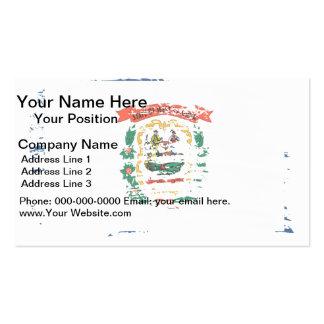 Cool West Virginian flag design Business Card Template