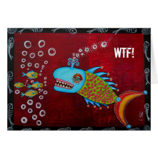 Cool Whale - WTF! Card