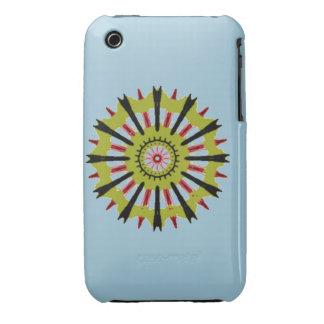 Cool wheel shape pattern iPhone 3 Case-Mate case