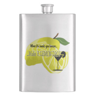 Cool When Life Hands You Lemons Flask