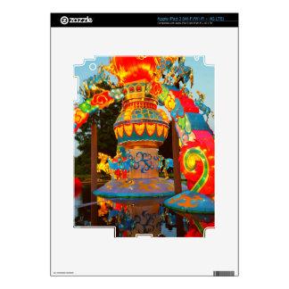 Cool Whimsical Japanese Lantern Art iPad 3 Decal