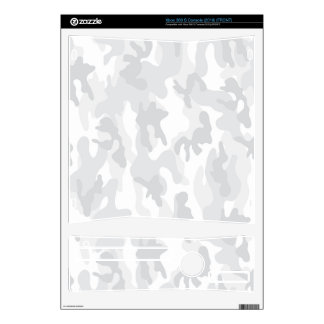 Cool White Camo, Camouflage Skins For The Xbox 360 S