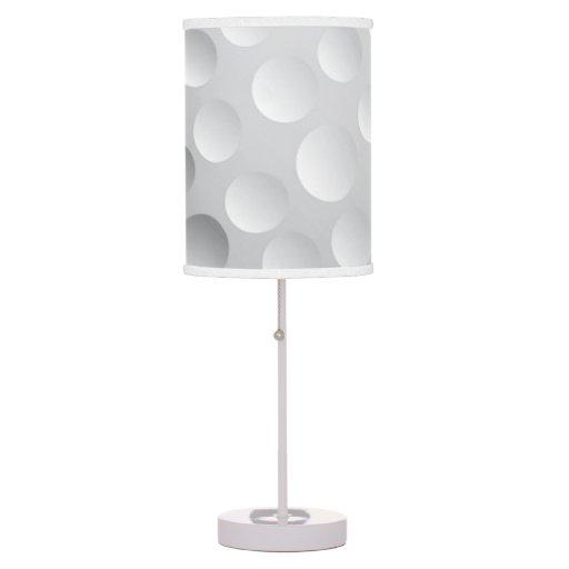 Cool White Golf Ball Texture, Golfer Desk Lamp