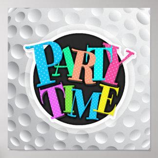 Cool White Golf Ball Texture, Golfer Poster