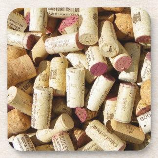 Cool Wine Cork Coaster Set!