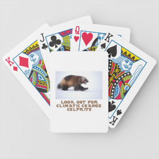 cool Wolverine designs Bicycle Playing Cards