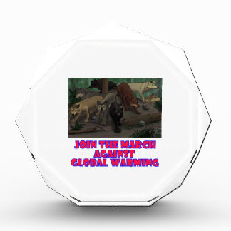 cool Wolves designs Acrylic Award
