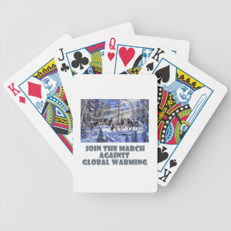 cool Wolves designs Bicycle Playing Cards