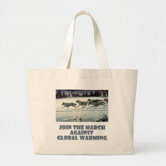 cool Wolves designs Large Tote Bag