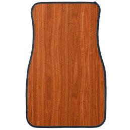 Cool Wood Grain Look Car Floor Mat