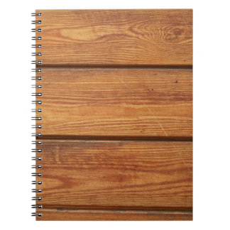 Cool Wood Spiral Notebooks