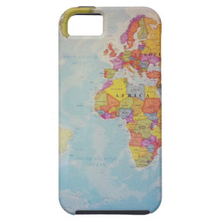 Cool World Map iPhone SE/5/5s Case