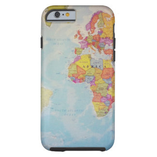 Cool World Map Tough iPhone 6 Case