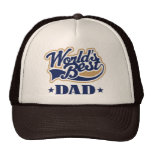 Cool World's Best Dad Gift Mesh Hat
