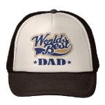 Cool World's Best Dad Gift Mesh Hat