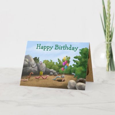 Check out the inside of this cool card for a fun birthd