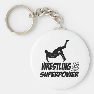 Cool wrestling designs keychains