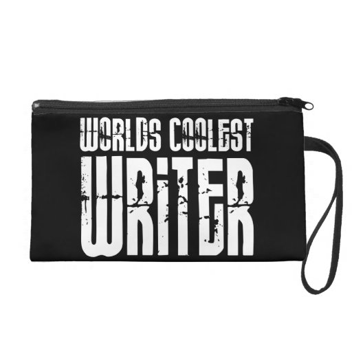 Cool Writers : Worlds Coolest Writer Wristlet Clutch