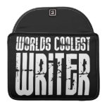 Cool Writers : Worlds Coolest Writer Sleeve For MacBook Pro