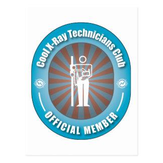 Cool X-Ray Technicians Club Postcard