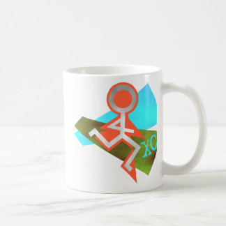 Cool XC Cross Country Running Coffee Mug