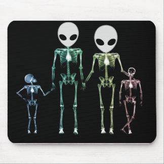 cool xray skeleton mouse pad