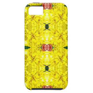 Cool Yellow Red Modern Tribal Pattern iPhone SE/5/5s Case
