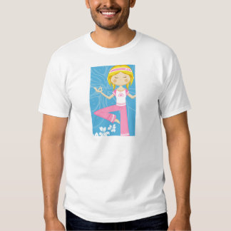 Cool Yoga Girl Tee Shirt