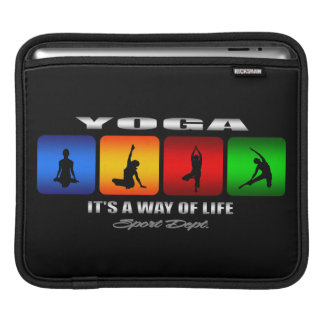 Cool Yoga It Is A Way Of Life iPad Sleeve