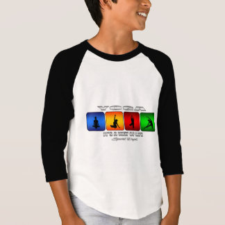 Cool Yoga It Is A Way Of Life T-Shirt