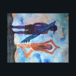 "Cool yoga Surf Sunset Single Print<br><div class=""desc"">Sunset,  Yoga lady and surf boy ,  mountain,  art illustration.</div>"
